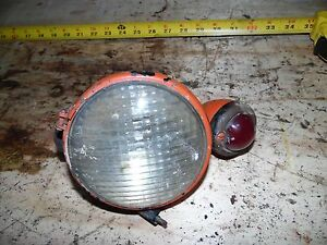 Allis Chalmers Wd Tractor Rear Light With Red Bulet Light