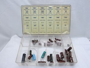Capacitor Cornell dubilier Capacitors Kit In Orginal Box Lot Of 42
