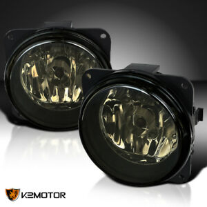 00 04 Ford Focus Svt 05 07 Escape Smoke Bumper Fog Lights Driving Lamps bulbs