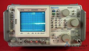 Tektronix 492bp Programmable Spectrum Analyzer 10khz To 21ghz