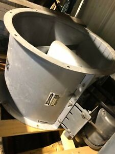 24 Devilbiss Tubaxial Fan Paint Booth Exhaust Nice Working Condition 3 Phase