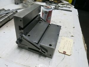 Bridgeport Milling Machine Small Sine Plate