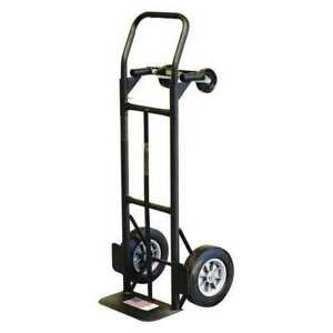Milwaukee Hand Trucks Dc36080s Convertible Truck with 10 solid Tires G6285408
