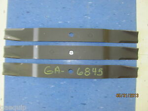 3 6 Befco 000 6845 Finish Mower Blades For 72 Deck