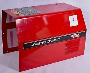Lincoln Invertec V350 Welder Shell Hood