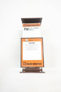 Moore Industries Psm 2x5 25v w 117ac rf Pulse Summing Module
