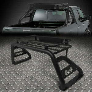 For 17 18 Ford F250 F350 F450 Super Duty Styleside Bed Roll Bar Roof Cargo Rack
