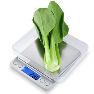 33lb 15kg Digital Electronic Kitchen Scale Meat Diet Food Postal Mailing Compact