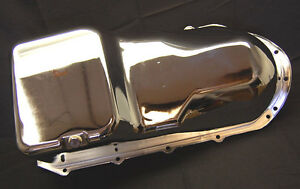 Spectre 5496 Chrome Steel Engine Oil Pan Fits Oldsmobile 1965 1980 350 403 455