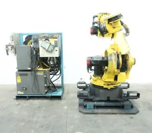 Fanuc S 430iw 165 Complete Robot W R j3 Controller Cables Pendant