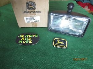New Oem John Deere Tractor Front Inter Hood Headlight Re154900 Modles Below
