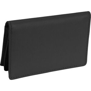 Royce Leather Deluxe Card Holder Black Business Accessorie New