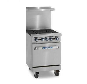 Imperial Range Ir g24 24 Griddle Top Range With Space Saver Oven