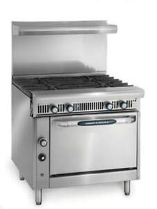Imperial Range Ihr 4 36 Commercial Heavy Duty Gas Range
