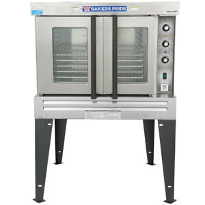 Bakers Pride Bco g1 Cyclone Convection Oven Nat Gas Full Size 5 Racks