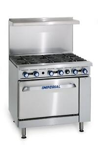 Imperial Range 36 Gas Range 2 Burners W 24 Thermostatic Griddle