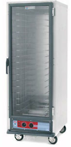 Metro C517 pfc 4 57 75 H Mobile Proofing Cabinet Non insulated W Fixed Wire