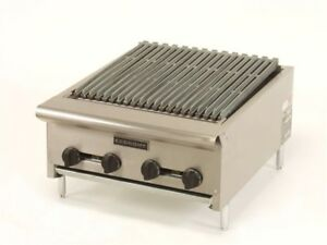 Comstock Castle Erb36 36 Radiant Charbroiler Gas Counter Top Char Grill