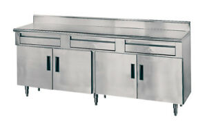 Advance Tabco Advance Tabco 120in X 30in Stainless Steel Storage Cabinet