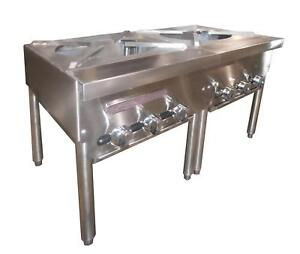 Southbend Spr 2j 36 Gas Stock Pot Range Manual W 2 Burners Three ring