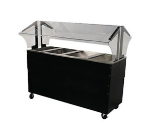Advance Tabco Portable Cold Food Buffet Table W 8 Deep Well Solid Base