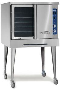 Imperial Range Icvg 1 Turbo flow Single Deck Gas Convection Oven 70 000btu