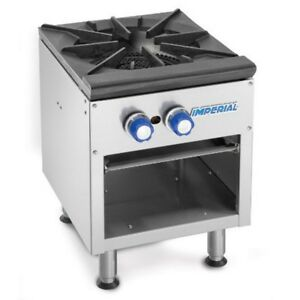 Imperial Range 18 3 Ring Burner Manual Stock Pot Range W Cast Iron Grate