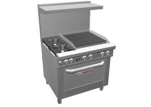 Southbend 4361a 2c 36 Ultimate Series Range W 24 Charbroiler