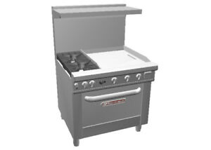 Southbend 4361d 2t Ultimate 36 Range W Standard Oven 24 Therm Griddle