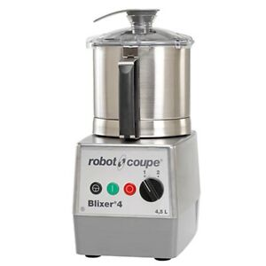 Robot Coupe Blixer 4v 4 5 Quart Commercial Food Blender Mixer W Variable Speed