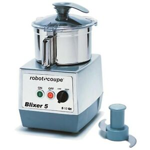Robot Coupe Blixer5 5 5 Quart Vertical Food Mixer Blender 3 Hp W Blade Assembly
