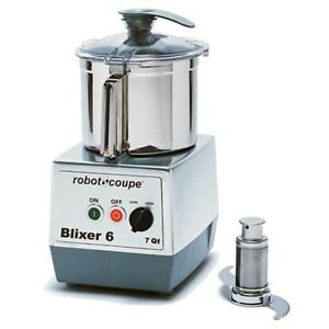 Robot Coupe Blixer6 Vertical Food Mixer Blender 3 Hp W 7 Quart Stainless Bowl