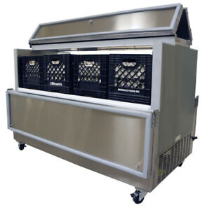 Nor lake Ar084sss 0 a 35 Stainless Steel Dual Access Milk Cooler