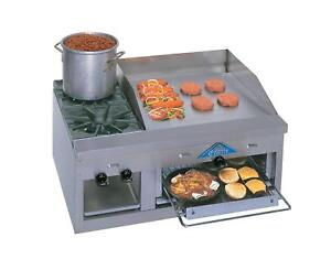 Comstock Castle Fhp36 24b 36 Wide Counter Top Griddle Broiler Cheesemelter