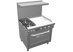 Southbend 4363d 2t Ultimate 36 Gas Star Burner Range W 24 Griddle