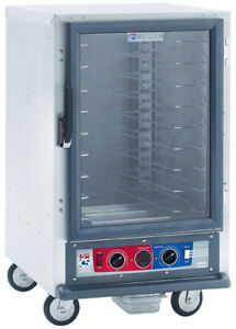 Metro C515 pfc l 1 2 Height Mobile Proofing Cabinet W Lip Load Pan Slide