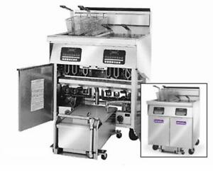 Imperial Range Ifssp 250 Multiple Battery Gas Fryer W Built in Filter System