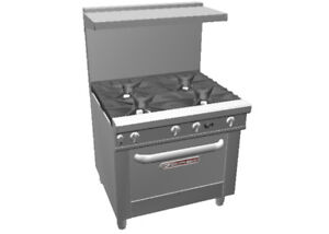 Southbend 4367d Ultimate 36 Range W 4 Large Burners Standard Oven