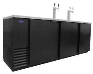 Nor lake Nldd95 39 2cuft Five Keg Refrigerated Direct Draw Beer Cooler