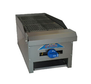 Comstock Castle Erb12 12 Countertop Gas Charbroiler W V Angle Iron Radiants