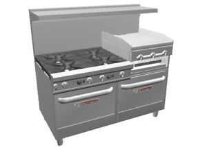 Southbend Ultimate 60 Large Burner Range W Griddle broiler 2 Ovens
