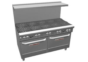 Southbend 4602aa Ultimate 60 10 Burner Range W Wavy Grates 2 Con Ovens