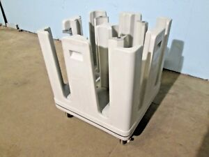 intermetro Pcd 11a Hd Commercial nsf Plate Holder dispenser Poly Cart caddy