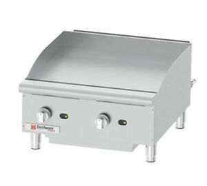 Gmcw Ce g24tpf Cecilware Pro 24 w Counterop Thermostatic Griddle 60 000 Btu