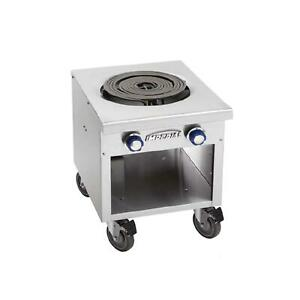 Imperial Range Ispa 18 e 18 Commercial Single Burner Electric Stock Pot Range