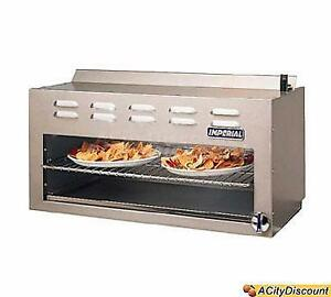 Imperial Range 48 Commercial Infra Red Gas Cheesemelter Broiler Countertop