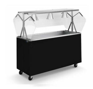 Vollrath 39734 Affordable Portable 46 3 Well Cold Cafeteria Station