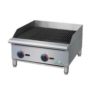 Comstock Castle Br24 Br Series 24 Manual Gas Countertop Charbroiler 70kb