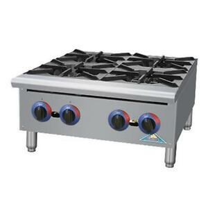 Comstock Castle Hp36 Hp Series 36 Manual 6 Burner Gas Hotplate 150kbtu