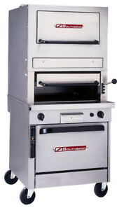 Southbend P32c 32b 32 Gas Upright Radiant Broiler Cabinet Base W Warming Oven